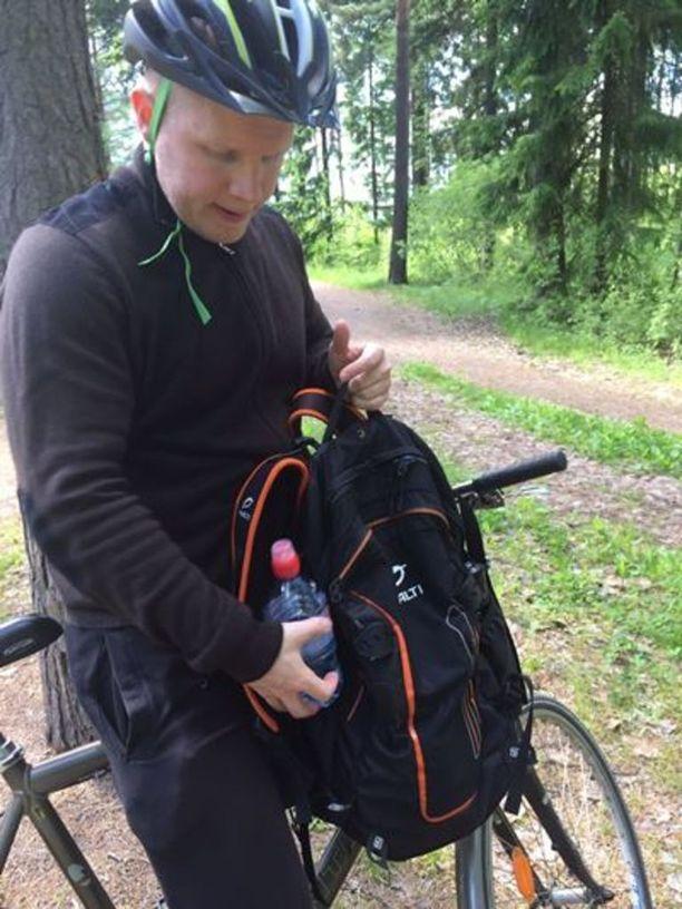 Kuvassa kadonnut Mikko Gröndahl.