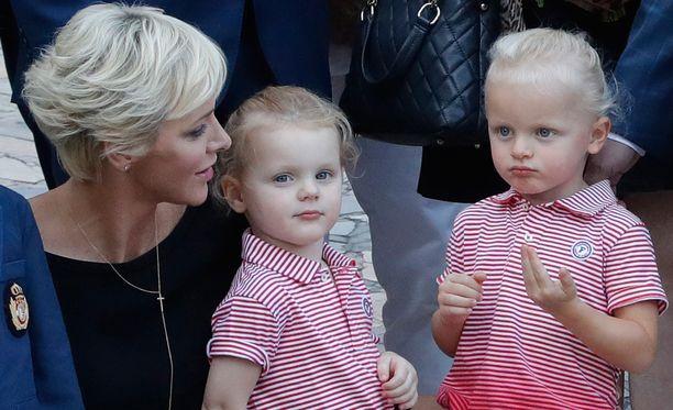 Charlene, Gabrielle ja Jacques osallistuivat perinteiseen pikniktilaisuuteen Monacossa syyskuun alussa.