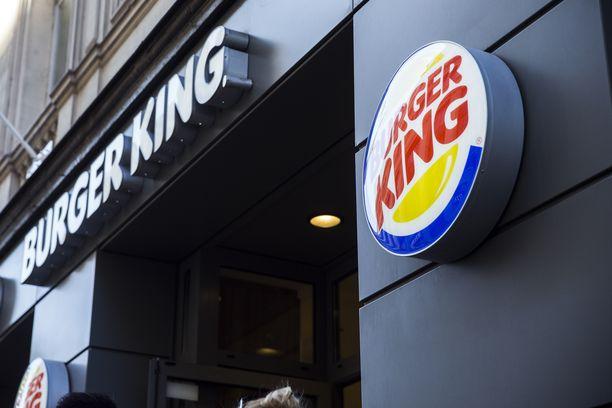 Burger King edellytti solmiota miehiltä.