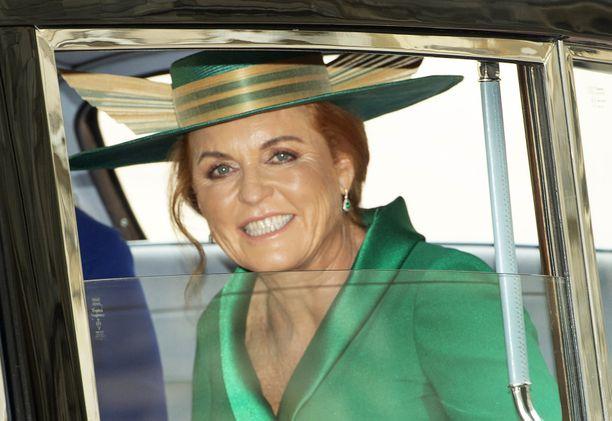 Yorkin herttuattarena tunnettu Sarah Ferguson on edelleen tuttu näky kuninkaallisissa juhlissa.