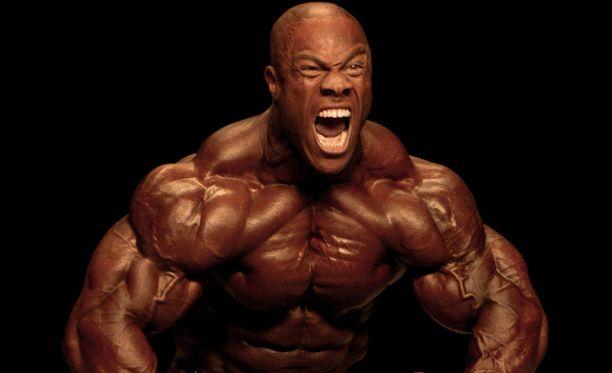 Generation Iron -sivuston äänestyksessä Parhaat käsivarret -kategoriassa ehdolla oleva Phil Heath, joka on seitsenkertainen Mr. Olympia.