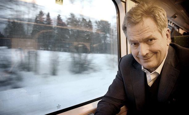 Tasavallan presidentti Sauli Niinistö ei suostu paljastamaan, joko tulevalle lapselle on nimi valmiina.