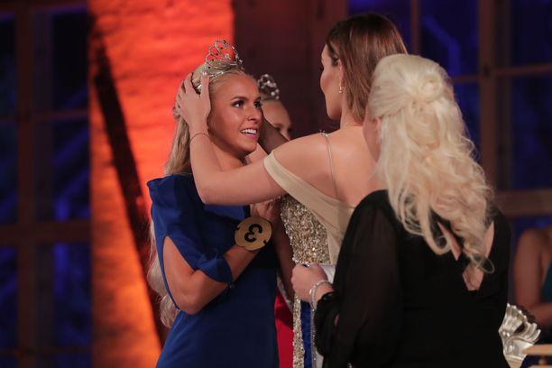 Alina Voronkova on Miss Suomi 2018.