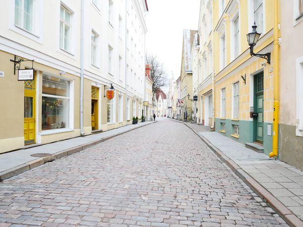 Tältä Tallinnassa näyttää.