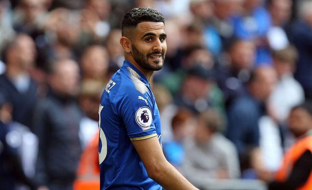 Leicesteristä poimittu Riyad Mahrez on yksi Manchester Cityn kesäostoksista.