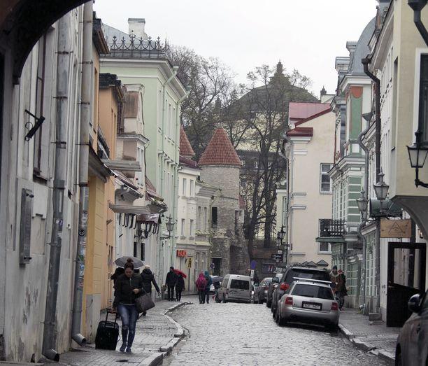 Arkistokuva Tallinnasta.