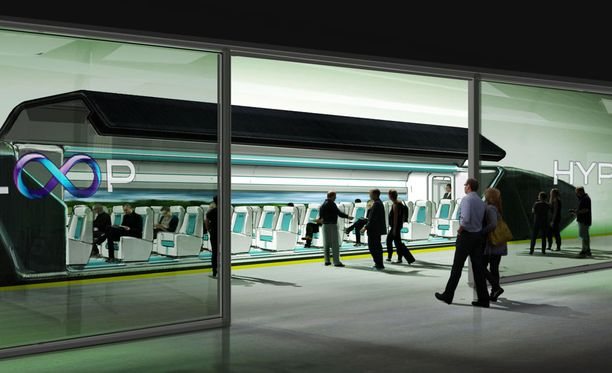 Hyperloop kuljettaa sekä rahtiliikennettä että matkustajaliikennettä.