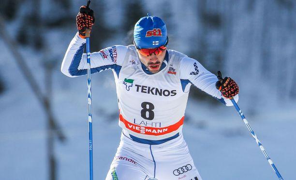 Ristomatti Hakola sijoittui viidenneksi maailmancupin sprinttihiihtojen yhteispisteissä.