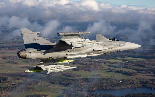 Ruotsi: Venäjän ilmavoimat käy yhä aggressiivisemmaksi - lentävät 10 metrin päässä ruotsalaiskoneista