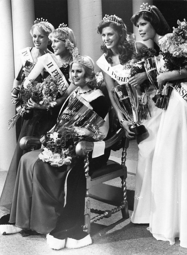 Riitta Väisänen vuonna 1976.