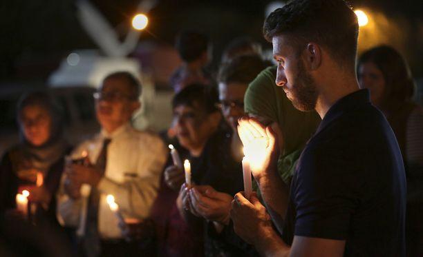 Sutherland Springsissä Texasissa ammuttiin 26 ihmistä kirkossa viime sunnuntaina.