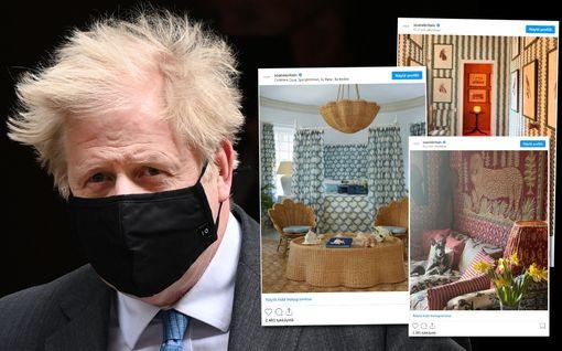 Villejä eläinkuoseja ja hillittömän hintainen sohva – tätä kaikkea sai 230000 euron kohuremontissa, joka voi jopa kaataa Boris Johnsonin