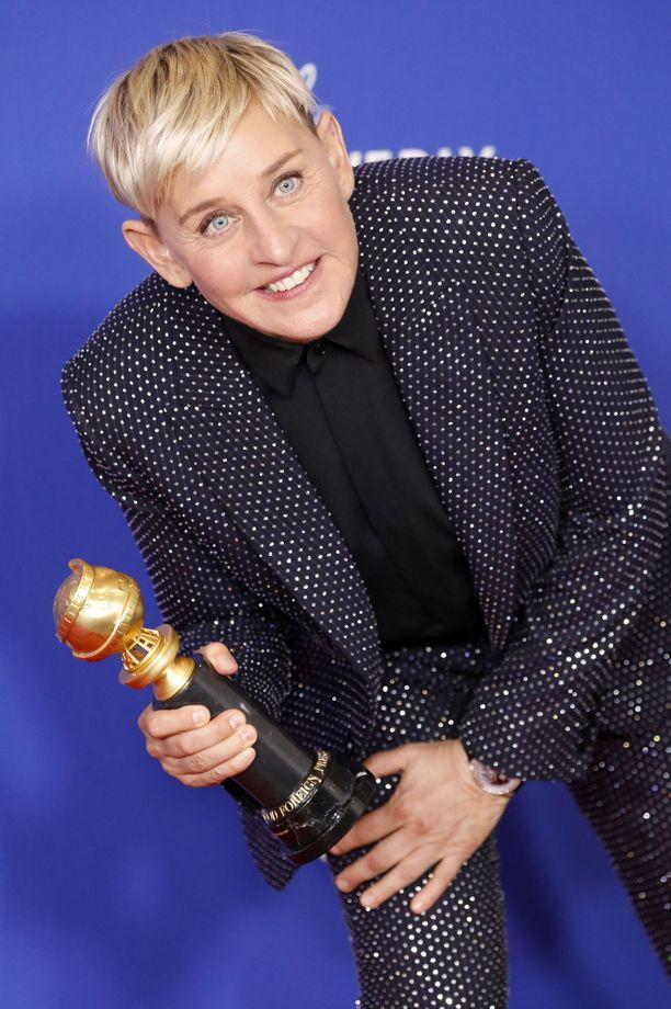Ellen DeGeneres on ollut palkittu ja pidetty televisiokasvo.