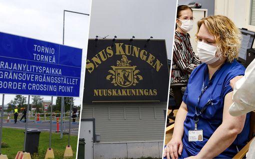 """Muuntoviruksen pelätään leviävän äkkiä Suomessa – Johtajaylilääkäri sulkisi Ruotsin rajan: """"Täysin turhaa käyntiä nuuskan takia"""""""