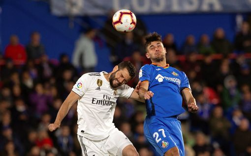 Real Madrid taas tuskaisen tehoton - Getafe nappasi ansaitun tasapelipisteen