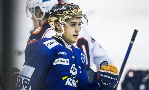 Juhani Tamminen on Mestiksen pistepörssin ykkösnimi.