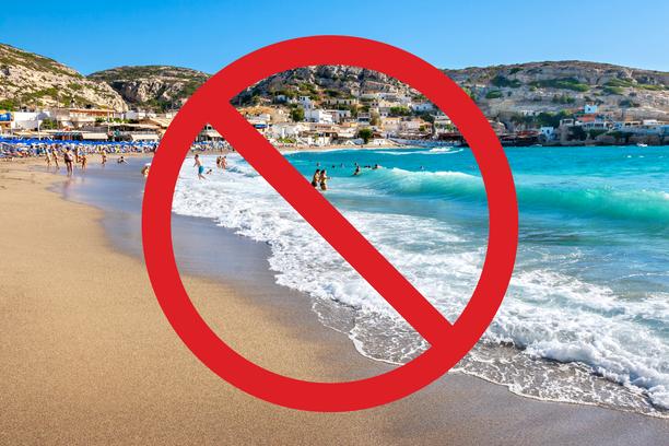 Aurinkomatkoja ei tehdä toistaiseksi Kreetalle.