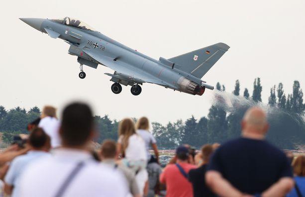 Eurofighter Typhoon on tulevina vuosina käytössä kuudessa valtiossa.