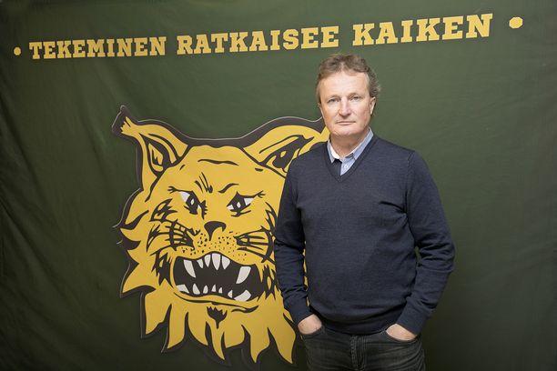 Risto Jalo toimii Ilves-Hockey Oy:n toimitusjohtajana.