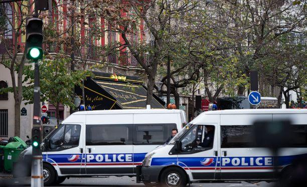 Pariisin ilmastokokouksessa on tänään paikalla tuhansia poliiseja takaamassa turvallisuutta.