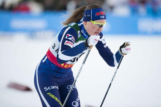 Johanna Matintalolla oli vaisu sprintin aika-ajo Lillehammerissa.