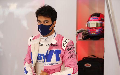 """Sergio Perezillä todettiin koronavirustartunta Meksikon reissun jälkeen – tallipomo puolustaa suojattiaan: """"Jälkiviisaus on hieno asia"""""""