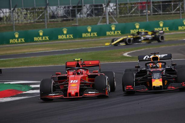 Charles Leclercin ja Max Verstappenin taistelu sai monen F1-fanin hykertelemään tyytyväisyyttään.