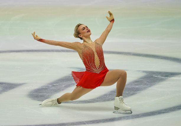 Emmi Peltonen onnistui Grazin EM-kisoissa.