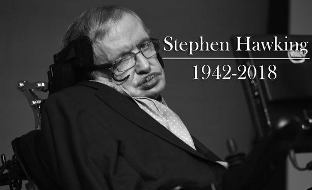 ALS-tautia sairastanut Hawking oli yksi aikansa tunnetuimmista tieteen tekijöistä.