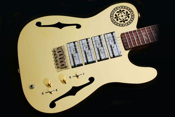 GoldCaster-kitara maksaa lähes 780 000 euroa.