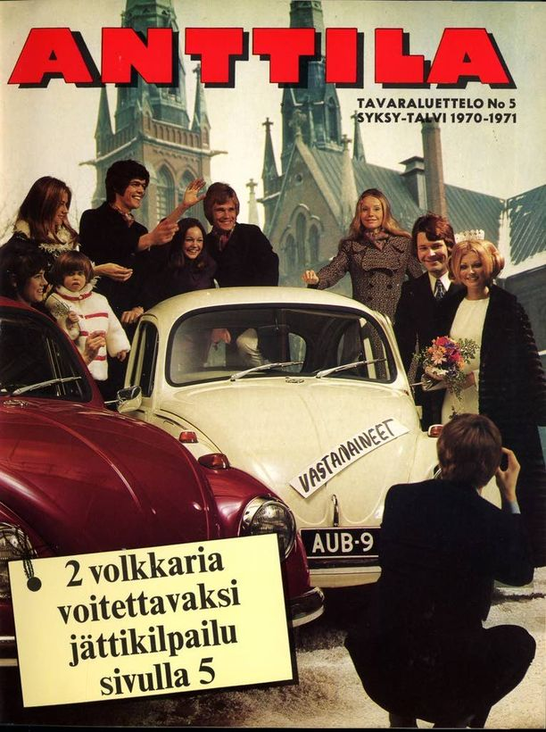 Syksyn 1970 kuvaston kannessa on jo enemmän vauhtia kuin vielä 60-luvun puolella.