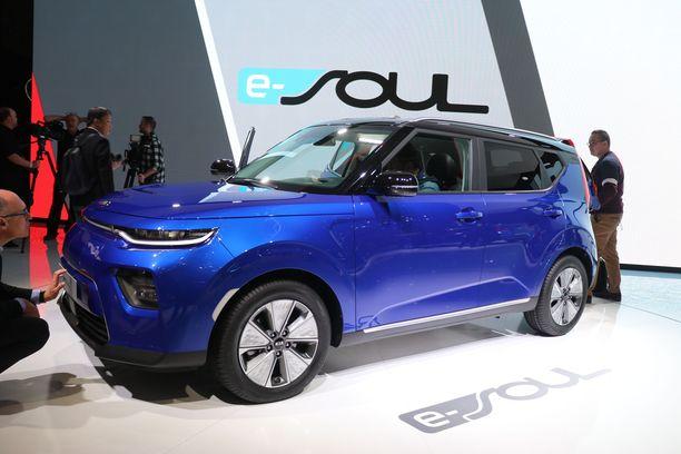 Kia Soulia myydään jatkossa Euroopassa vain sähköisenä versiona.