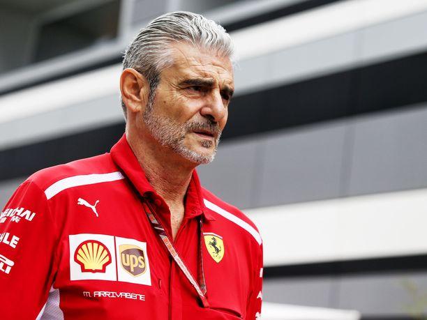 Maurizio Arrivabenen valtakaudella Ferrari ei ole voittanut yhtään mestaruutta.