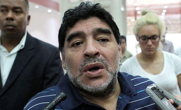 Tältä Diego Maradona näytti tammikuun alkupuolella.