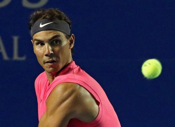 Rafael Nadal on voittanut urallaan 19 kertaa Grand Slam -turnauksen.