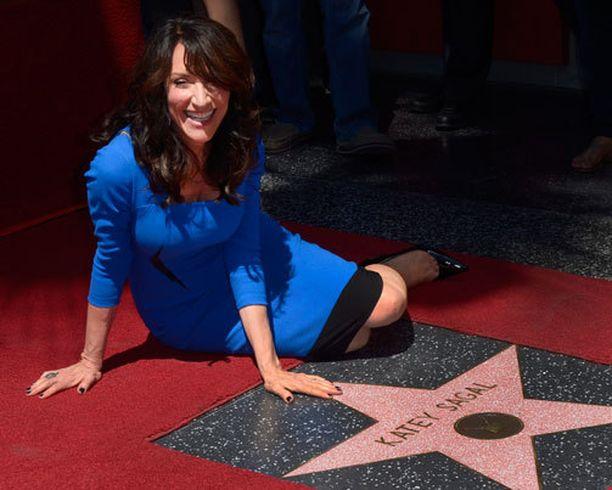 60-vuotias Katey Sagal sai tiistaina oman tähtensä Walk Of Famelle.