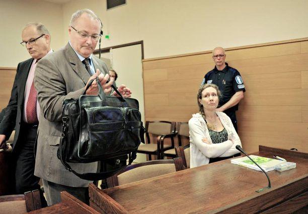 Anneli Auer on äitinsä mukaan onnellinen hovioikeuden päätöksestä.