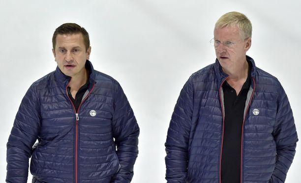 Sveitsin mahtiseura SC Bern luottaa Ville Peltoseen ja Kari Jaloseen.