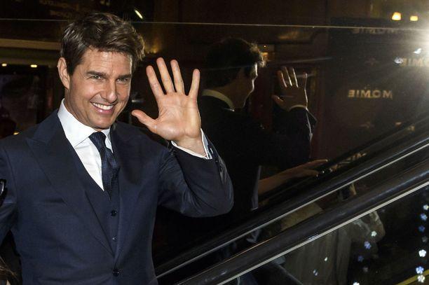 Tom Cruise punaisella matolla toukokuussa 2017.
