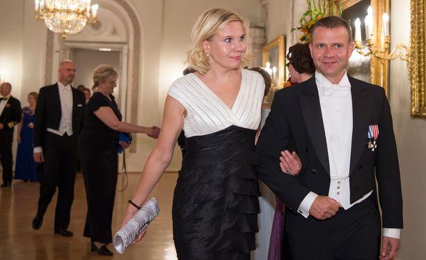 Petteri Orpo ja Niina ovat upea pari.