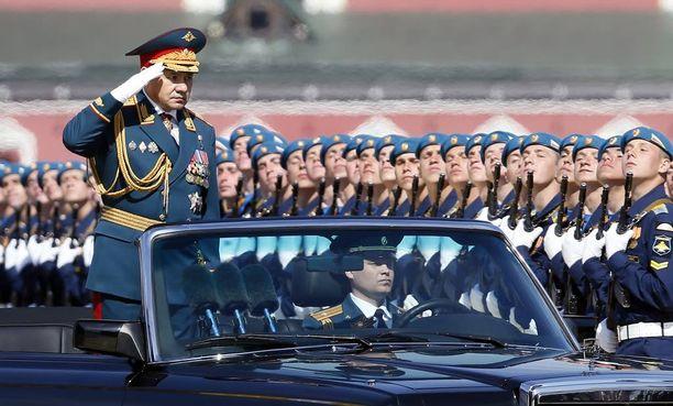 Lavrovin tapaan myös Venäjän puolustusministeri Sergei Shoigu tunnetaan kovista puheistaan.