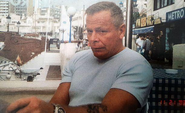 Raimo Andersson löydettiin kuolleena yksityisasunnosta Vantaalta.