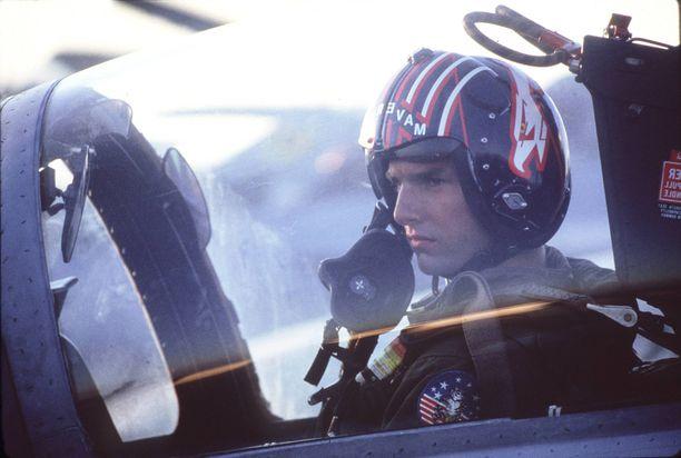 Tom Cruise tähditti vuonna 1986 ensi-iltansa saanutta Top Gun -elokuvaa.