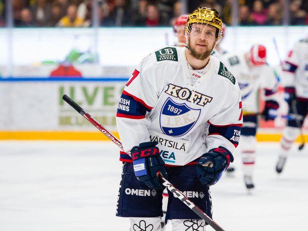 Teemu Turunen vei HIFK:n 2–1-johtoon lauantaina Tampereella.
