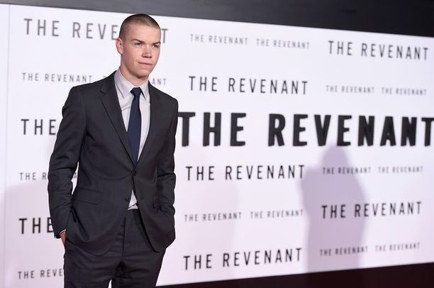 Will Poulter näyttelee Leonardo DiCaprion rinnalla The Revenant -uutuuselokuvassa.