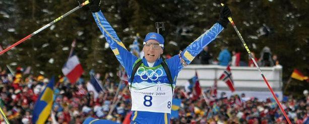 Björn Ferry toi Ruotsiin kisojen toisen kultamitalin.