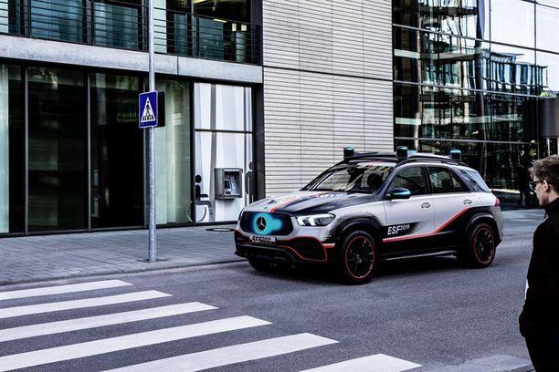 ESF 2019 -malli pohjautuu Mercedes-Benz GLE -maasturiin.