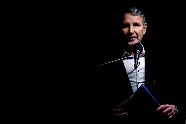 AfD:n Björn Höcke on ehdolla Thüringenin osavaltiopääministeriksi.
