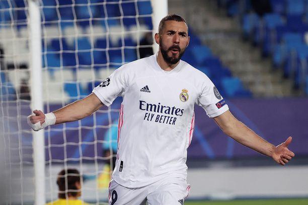 Karim Benzema nousi esiin, kun Real Madrid tarvitsi häntä.