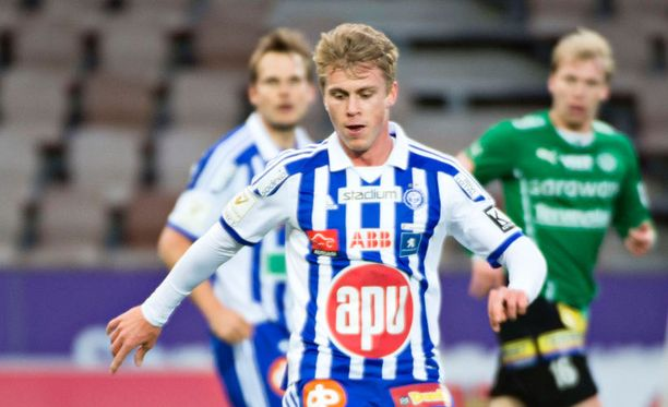 HJK:n Rasmus Schüller pelasi ensimmäisen kerran kahteen ja puoleen kuukauteen.